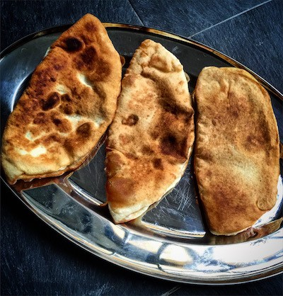 Bolani | Fagottini di cipolle, porri e patate alle spezie | Afghanistan