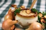 Soupe gratinée à l'oignon | Zuppa di cipolle gratinata | Francia