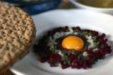 Fågelbo la tartina festiva del banchetto nordico | Svezia