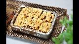 Snacks dolci allo zenzero, cannella, miele e pinoli | Corea