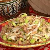 Grom soup Insalata di cetrioli, tonno e cipolle | Gambia