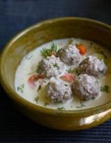 Polpettine Youvarlakia in salsa avgolemono | Grecia