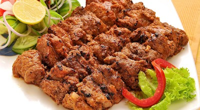 Murgh seek kebab | Kebab di spiedini di pollo al garam masala | India