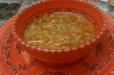 Achorba | Zuppa marocchina di verdure e vermicelli all'agro | Marocco
