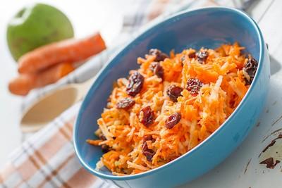 Sauté di carote e frutta secca all'acqua di fiori d'arancio   Marocco