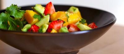 Ensalada de mango, fresas y aguacate | Insalata di mango, fragole e avocado | Messico